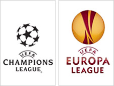 Uefa Champions League and Europa League