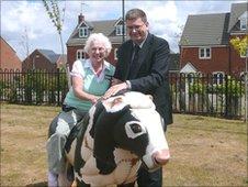 Beryl Harper and Paul Varnsverry