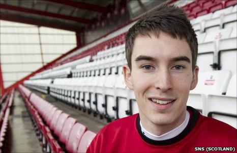 Hamilton defender Grant Evans