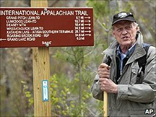 Dick Anderson, founder of the International Appalachian Trail