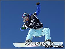 Jenny Jones in action at the X Games