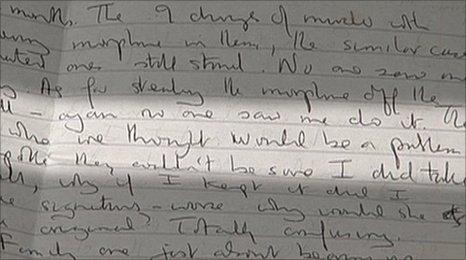 Letter by Shipman