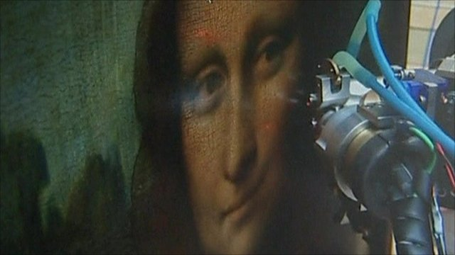 Mona Lisa has an x-ray
