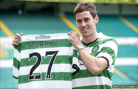 Celtic forward Daryl Murphy