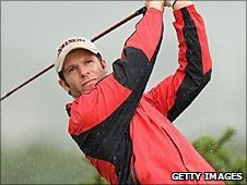 Bradley Dredge slipped down the Open leaderboard at St Andrews