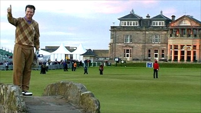 Tom Watson at St Andrews