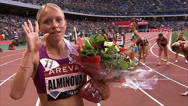 Russia's Anna Alminova