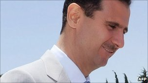 Syrian President Bashar al-Assad (file image from June 2010)