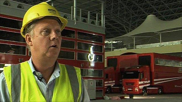 Ferrari World general manager Claus Frimand