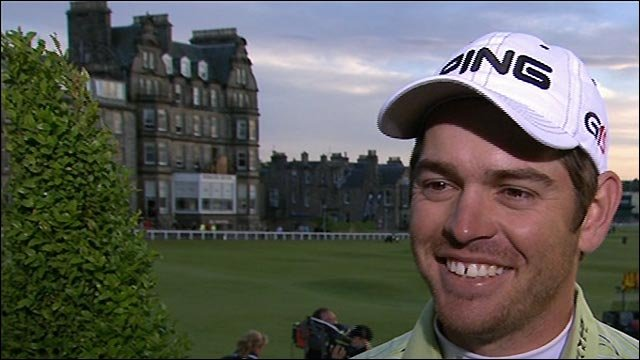 The Open 2010: Louis Oosthuizen looks to 'special' Sunday