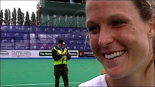 England's Crista Cullen
