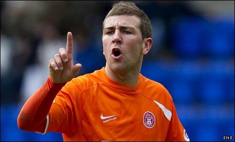 Hamilton midfielder James McArthur