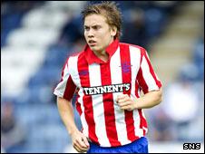 Rangers midfielder Thomas Kind Bendiksen