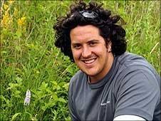 National Trust Conservation Warden Adam Maher