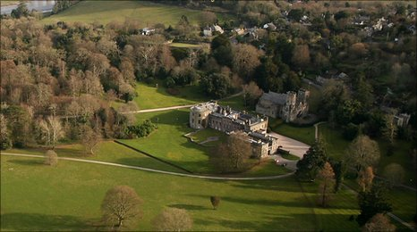 Port Eliot from the air