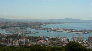 Skyline of Palma, Majorca