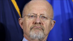 James Clapper, file pic