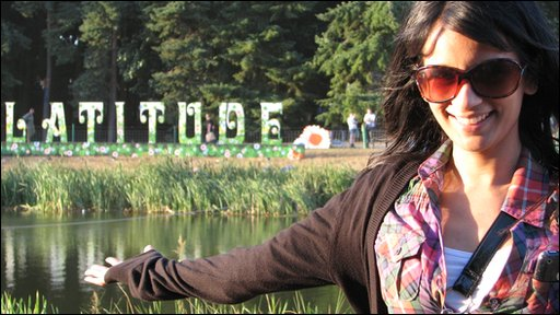 Sonali at Latitude