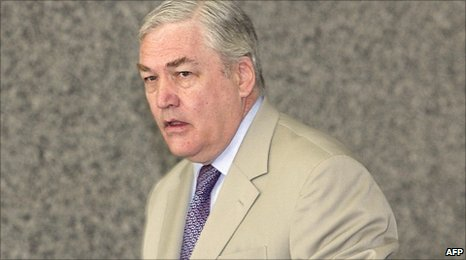 Conrad Black, pictured in July 2007