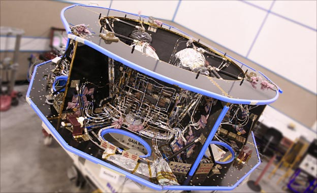 Gaia main structure (BBC)