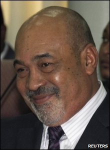 Suriname President Desi Bouterse