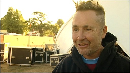Nigel Kennedy at Latitude