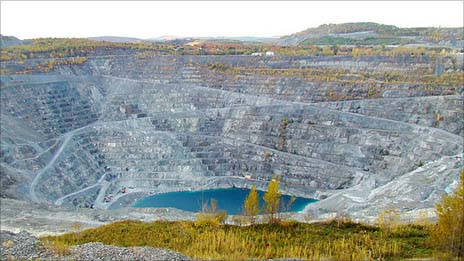 The Jeffrey mine