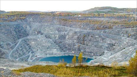 The Jeffrey mine