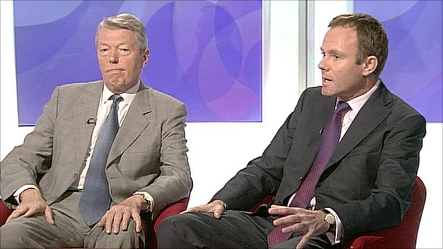 Alan Johnson and Nick Herbert