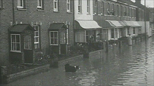 Exeter floods of 1960