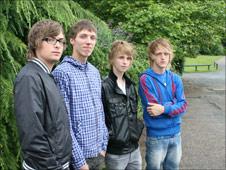 Telford band The Yipes