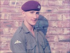 Former paratrooper Anthony Malone