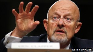 James Clapper at a Senate confirmation hearing (20 July 2010)