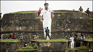 Muttiah Muralitharan cut out at Galle