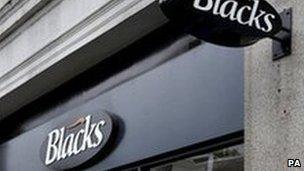 Blacks store
