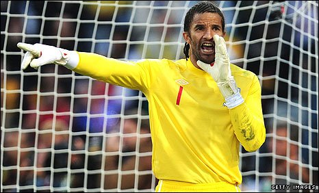 Celtic are in with a shout of signing England World Cup goalkeeper David James