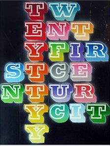 Twentyfirst Century City, by Ben Eine