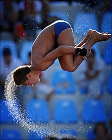 Tom Daley diving - Getty Images