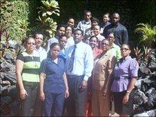 Maraval Primary staff