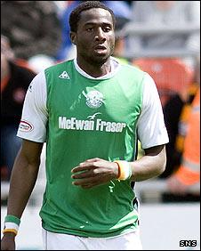 Hibernian defender Sol Bamba