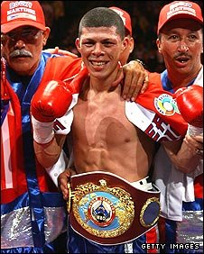 WBO super-featherweight champion Roman Martinez