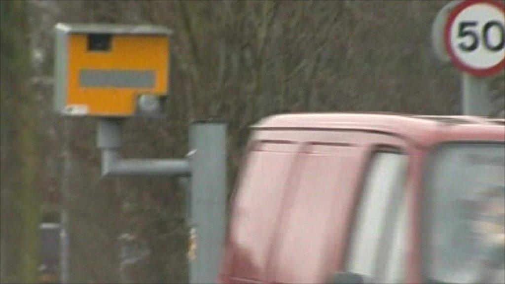 A speed camera