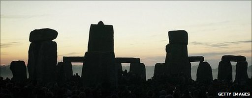 Stone Henge on Summer solstice