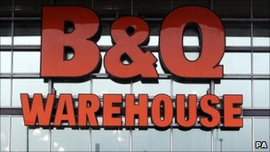 B&amp;Q store