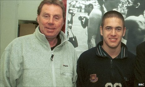 Harry Redknapp and Joe Cole