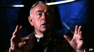 Peter Egan as Holmes in the West End production The Secret of Sherlock Holmes