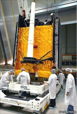 Skynet 5 satellite (EADS Astrium)