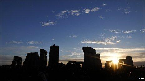 Stonehenge (Image: AFP)