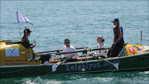Seagals on their boat Go Commando