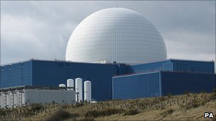Sizewell B nuclear reactor (Image: PA)